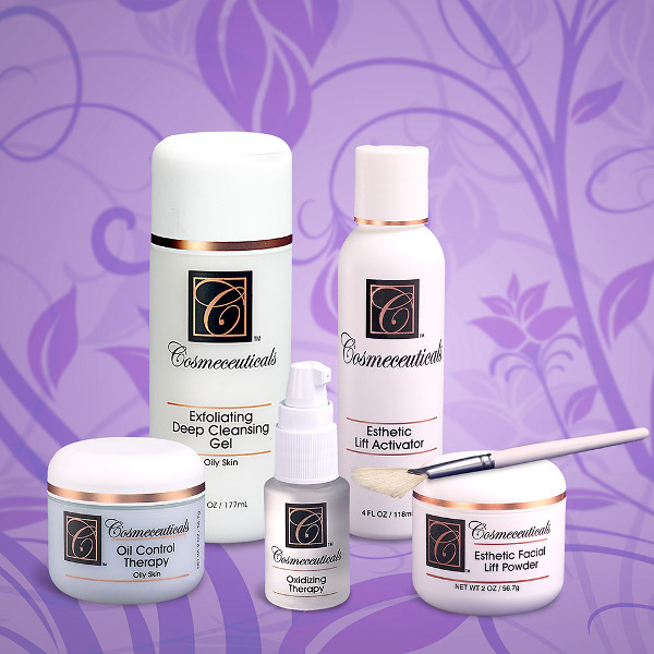 Esthetic Facial Lift Set for Oily Skin