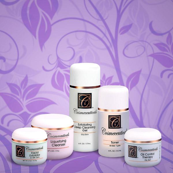 5 Step Oily Skin Care Set